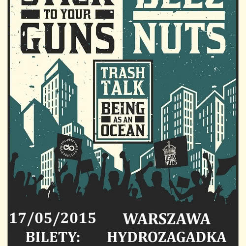 Koncert Stick To Your Guns i Deez Nuts już maju