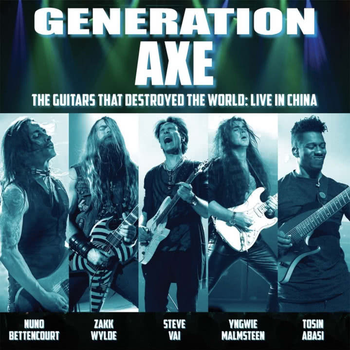 Generation Axe - The Guitars That Destroyed The World: Live in China