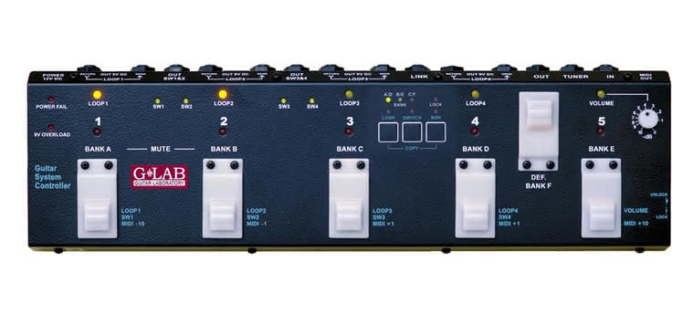 G LAB - Guitar System Controller