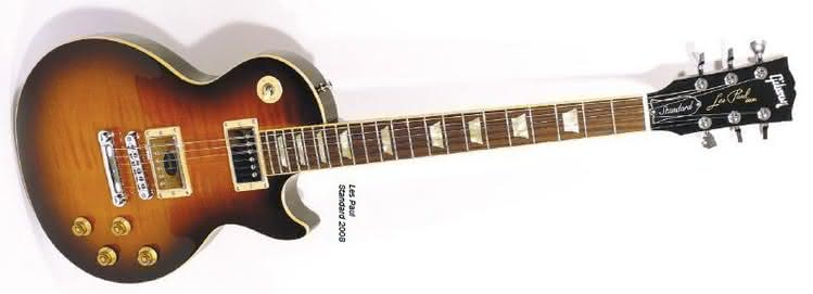 GIBSON - Les Paul Standard 2008 i Traditional