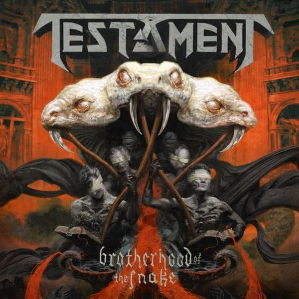 Brotherhood Of The Snake - nowe lyric video Testament