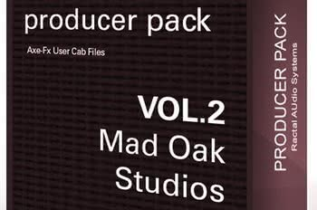 Fractal Audio Cab Producer Pack VOL.2: Mad Oak Studio