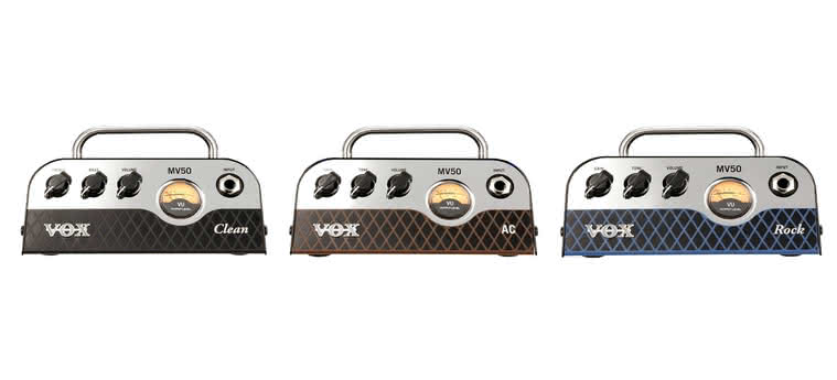 VOX - MV50 Clean, MV50 AC, MV50 Rock, BC112