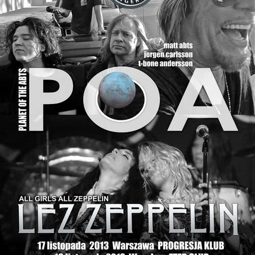 Planet Of The Abts i Lez Zeppelin w Polsce