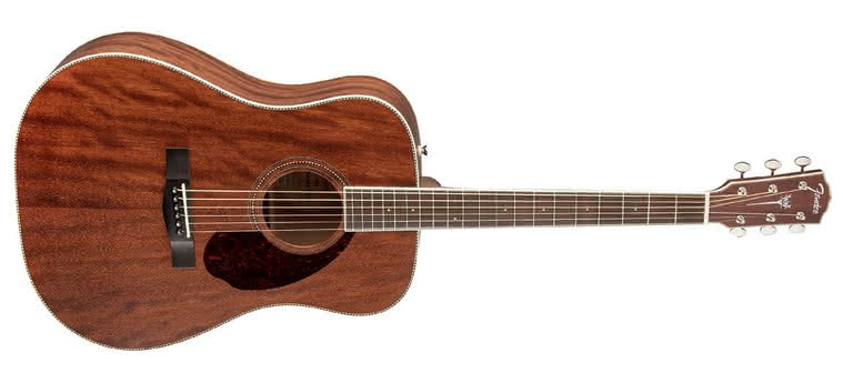 FENDER - PM-1 Standard Dreadnought All Mahogany NE