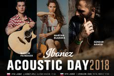 Ibanez Acoustic Day 2018 w Łodzi