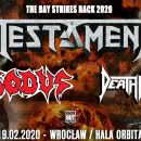 Testament, Exodus i Death Angel w Polsce!