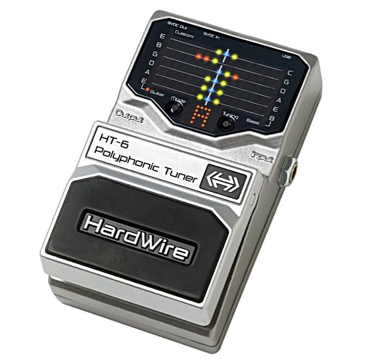 DIGITECH - HardWire HT-6 Polyphonic Tuner