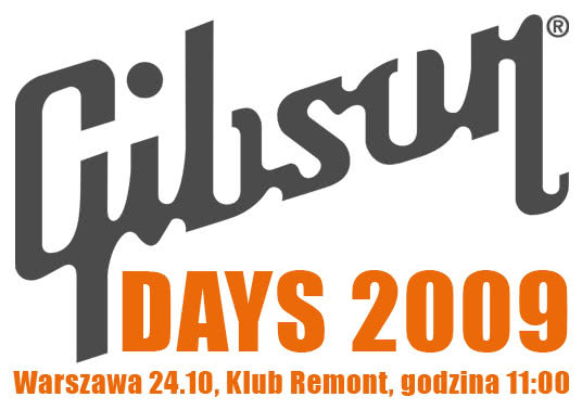 13 dni do Gibson Days 2009