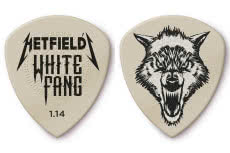 Nowe kostki Dunlop Hetfield's White Fang Custom Flow
