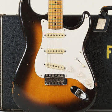 "Fender Eric Clapton ""Brownie"" Tribute Stratocaster"
