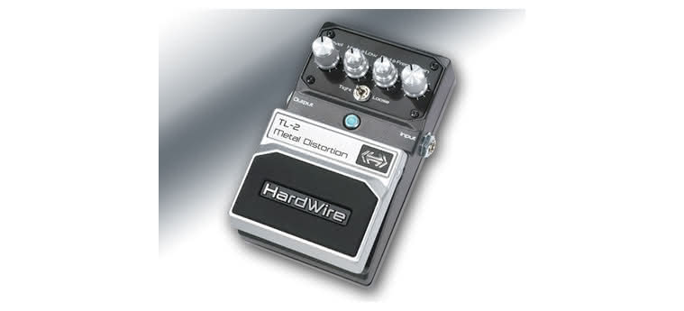 DIGITECH - HardWire TL-2 Metal Distortion