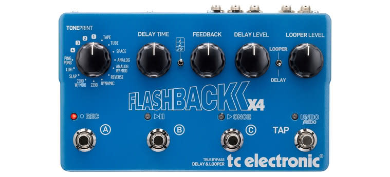 TC ELECTRONIC - Flashback Delay And Looper X4