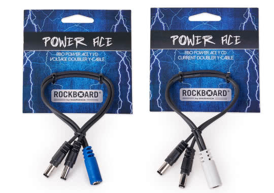 Nowe kable RockBoard Power Ace Voltage Doubler i Current Doubler