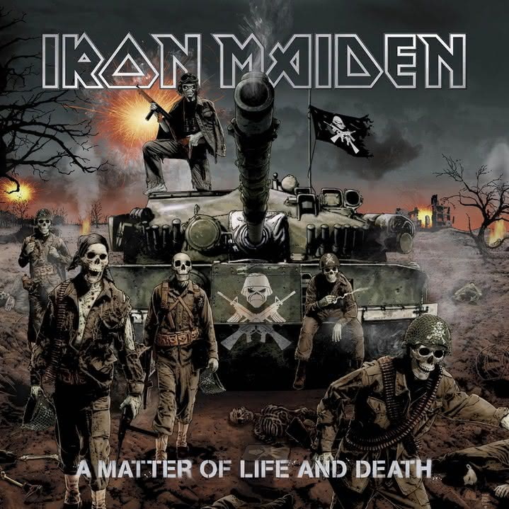 Iron Maiden - A Matter Of Life And Death
