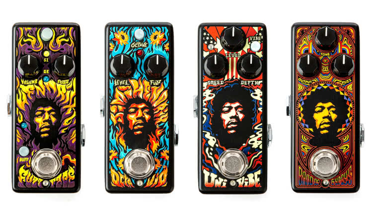 Nowe efekty Dunlop Authentic Hendrix '69 Psych Series