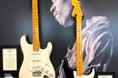 Fender Custom Shop prezentuje modele Jimi Hendrix Voodoo Child Strat