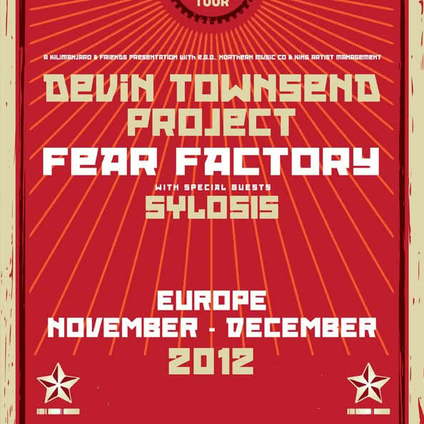 Devin Townsend Project i Fear Factory na dwóch koncertach w Polsce