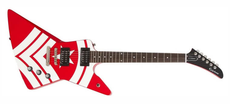 EPIPHONE - Limited Edition Jason Hook M-4 Explorer Outfit