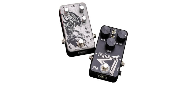 GUITAR CHEMISTRY STOMPBOXES - Toxic Fuzz, Crossroads