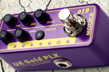 MOOERMicro Preamp 019 UK Gold PLX