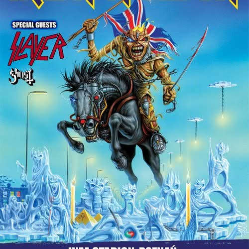 Slayer i Ghost supportami Iron Maiden!