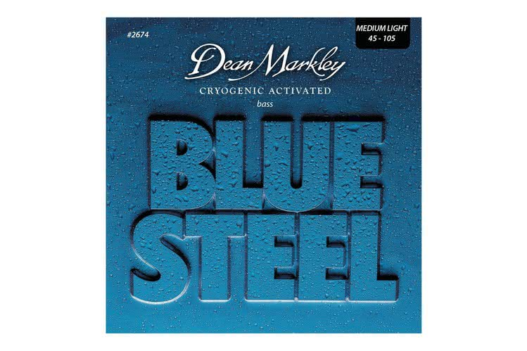 DEAN MARKLEY - Cryogenic Activated Blue Steel 45-105