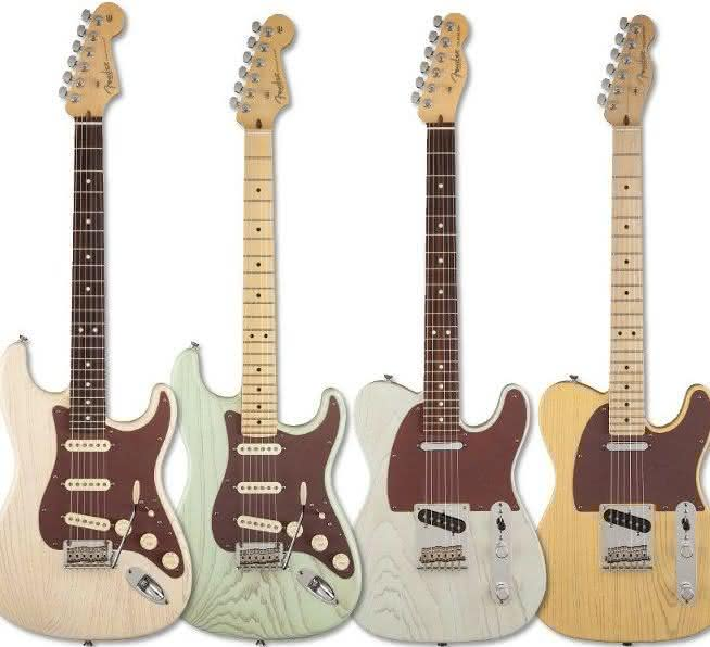 Fender American Rustic Ash Stratocaster & Telecaster