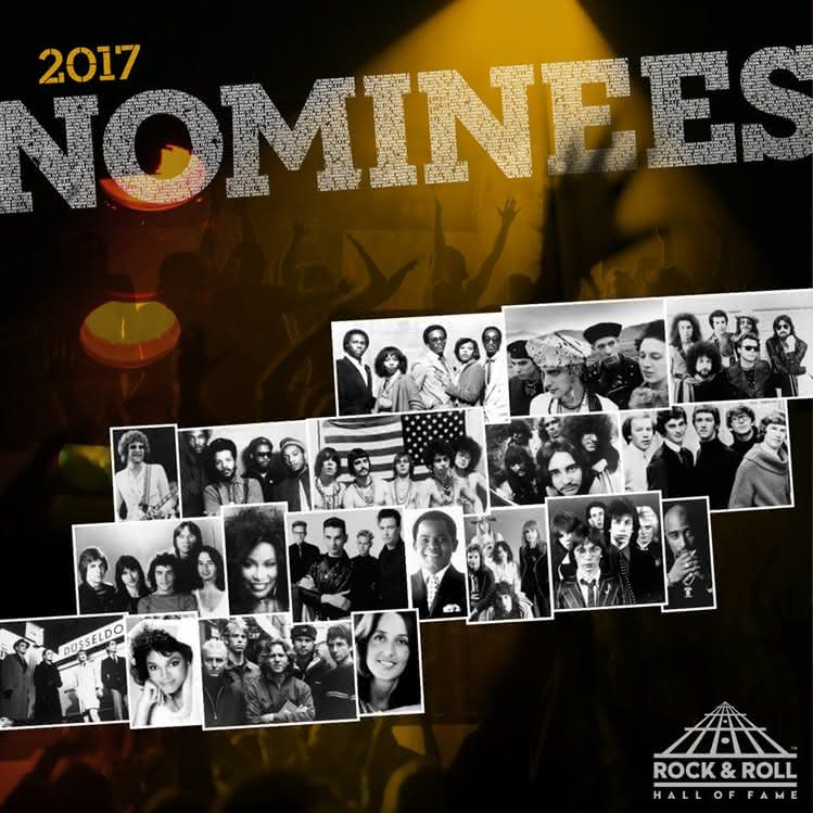 Nominowani do Rock and Roll Hall of Fame 2017