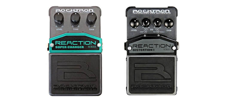 ROCKTRON - Reaction Super Charger i Distortion 1