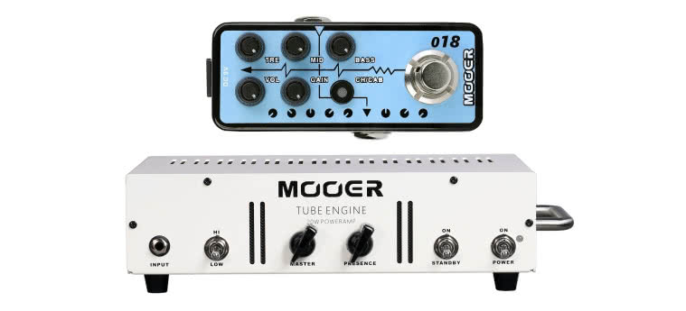 MOOER - Tube Engine, Micro PreAmp 018 Custom 100