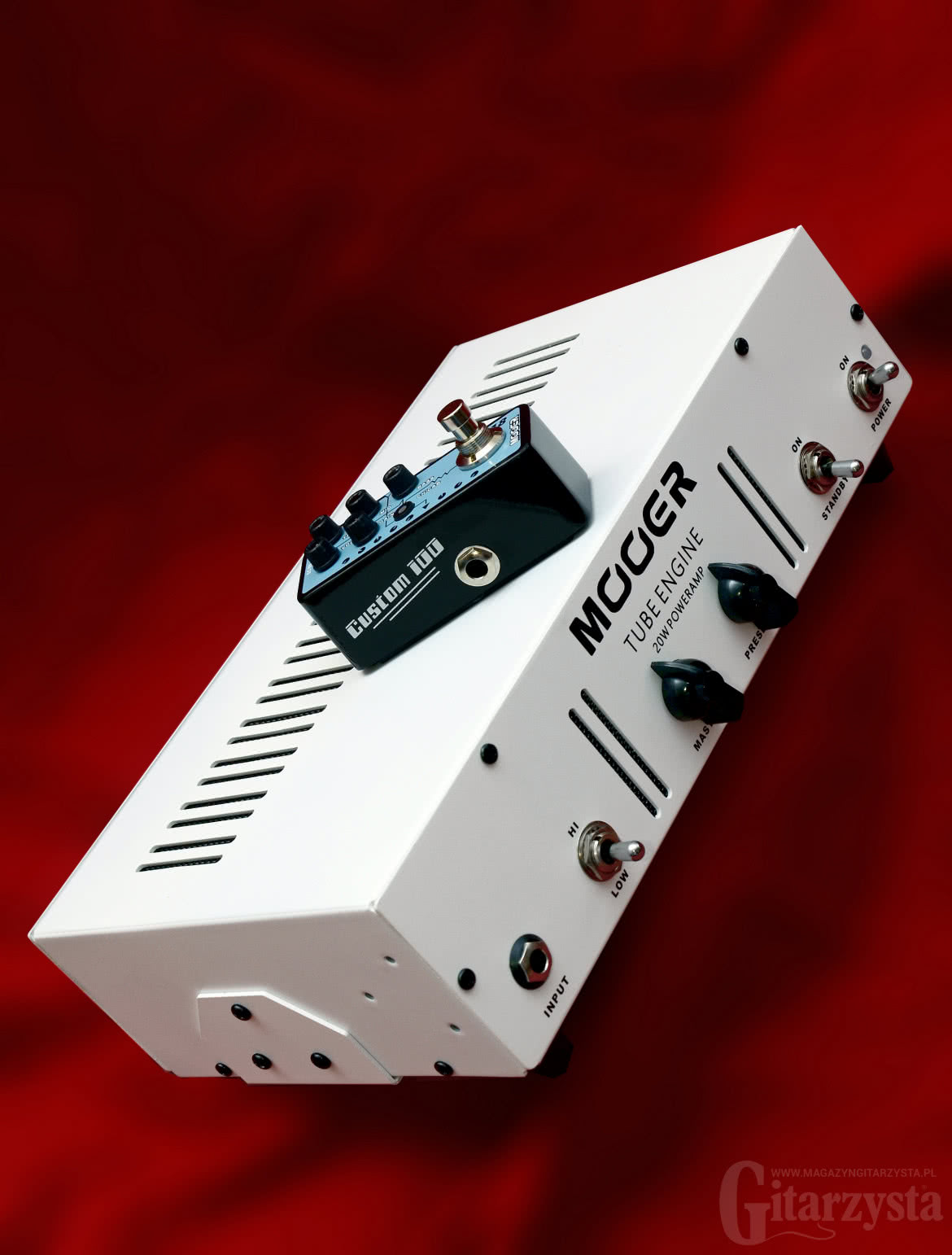 Mooer Tube Engine, Micro PreAmp 018 Custom 100