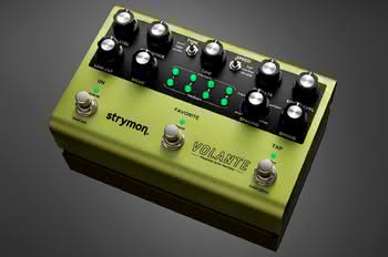 Strymon prezentuje Volante Magnetic Echo Machine