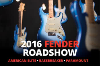 Fender Roadshow 2016
