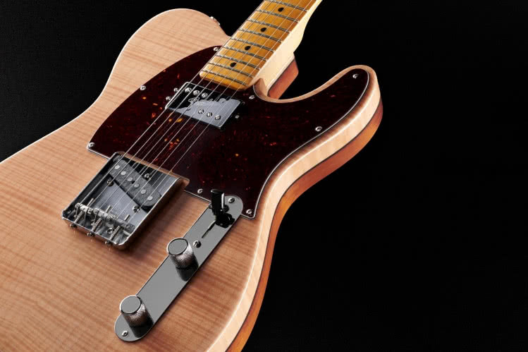Fender Rarities Flame Maple Top Chambered Telecaster