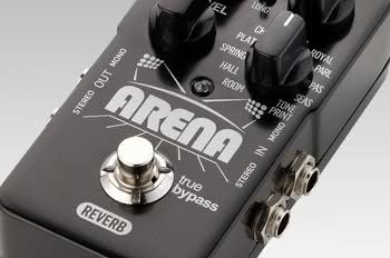 Nowy stompbox TC Electronic Arena Reverb