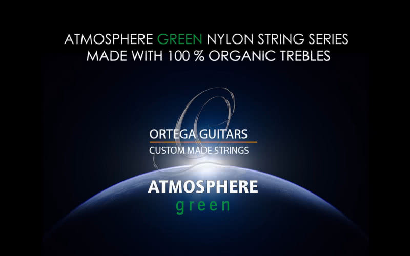 Nowe struny Ortega Custom Made Atmosphere Green