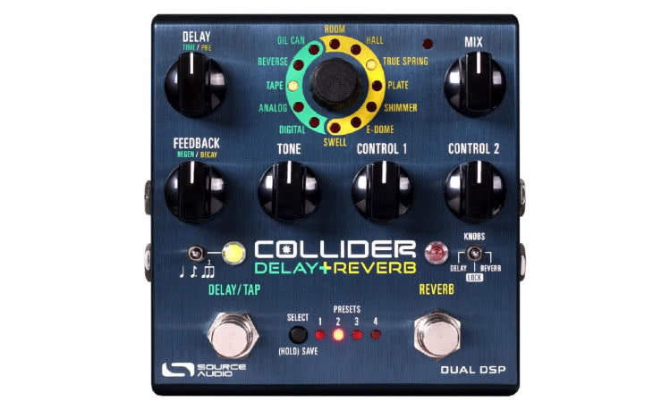SOURCE AUDIO - One Series Collider Stereo Delay+Reverb