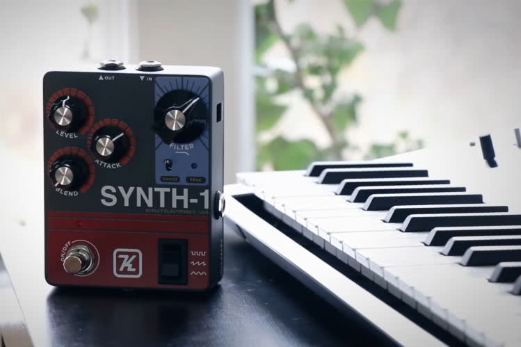Keeley Synth 1 – Reverse Attack Fuzz Wave Generator
