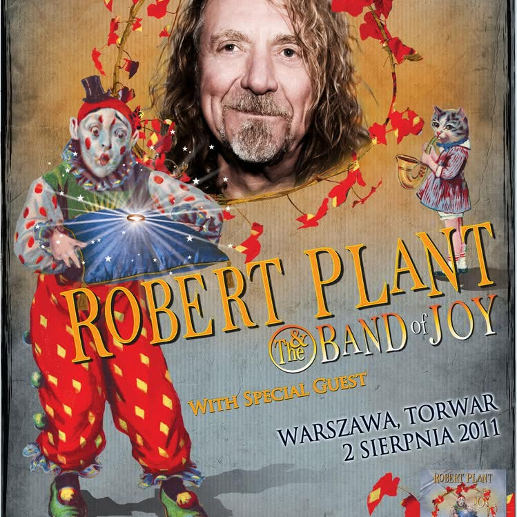 Robert Plant & The Band of Joy już we wtorek