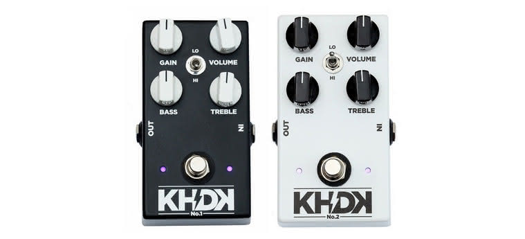 KHDK - No.1 Overdrive, No.2 Clean Boost