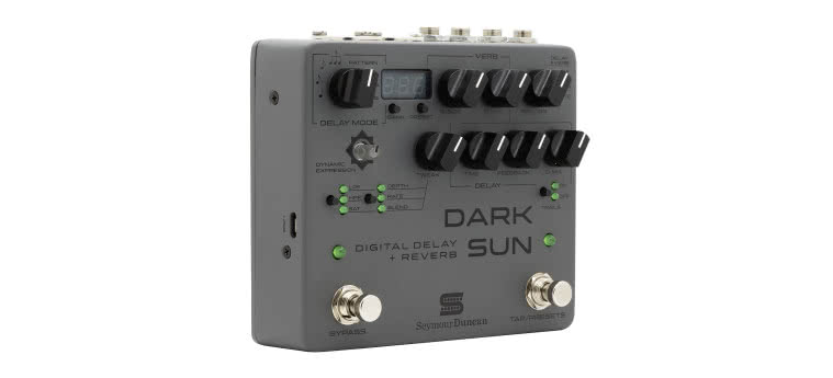 SEYMOUR DUNCAN - Dark Sun Digital Delay + Reverb