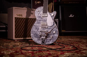 Gretsch G6129T Limited Edition Players Edition Jet FT Light Blue Pearl