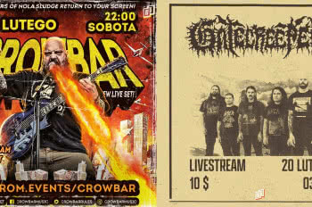 Koncerty online Gatecreeper i Crowbar