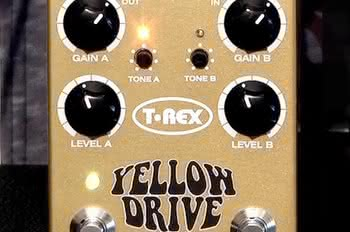 Yellow Drive czyli distortion od T-Rex i Guitar Center