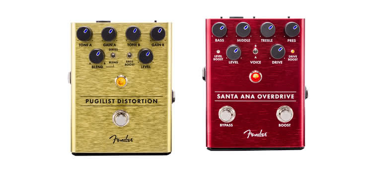 FENDER - Santa Ana Overdrive, Pugilist Distortion