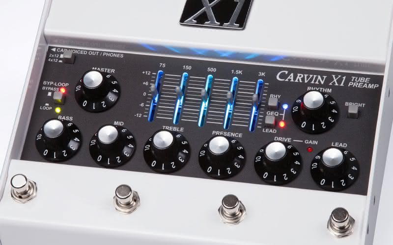 Carvin X1 Tube Preamp