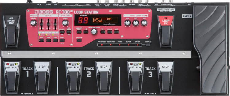 BOSS - RC-300 Loop Station