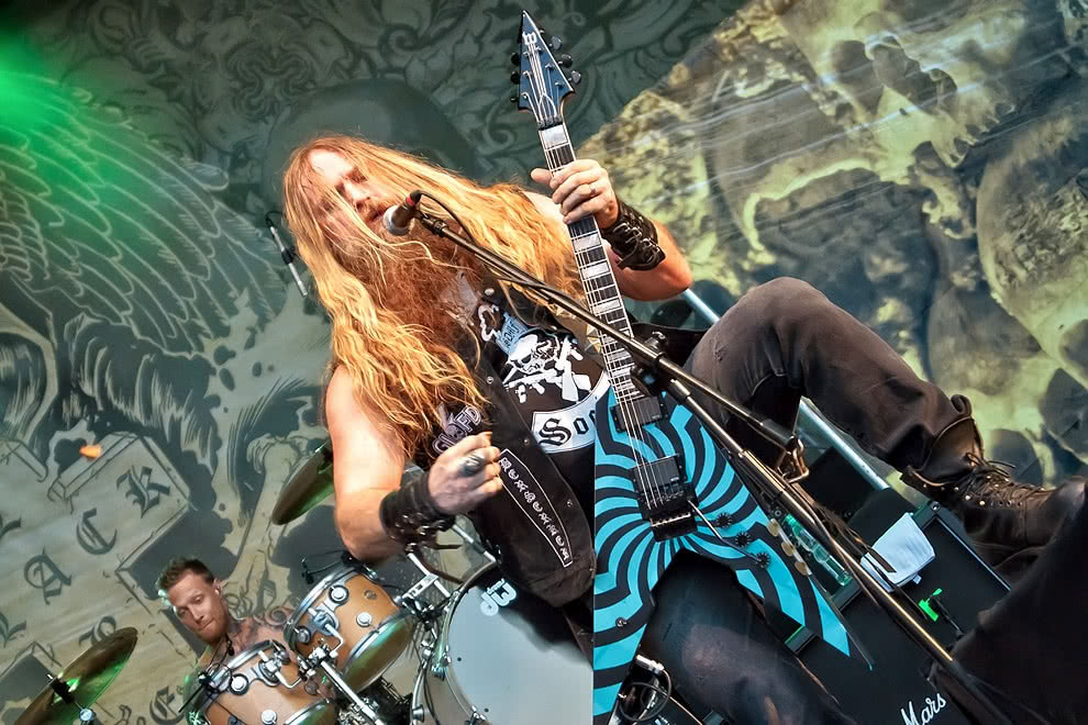 Black Label Society, Saxon - 04.07.2015 - Wrocław
