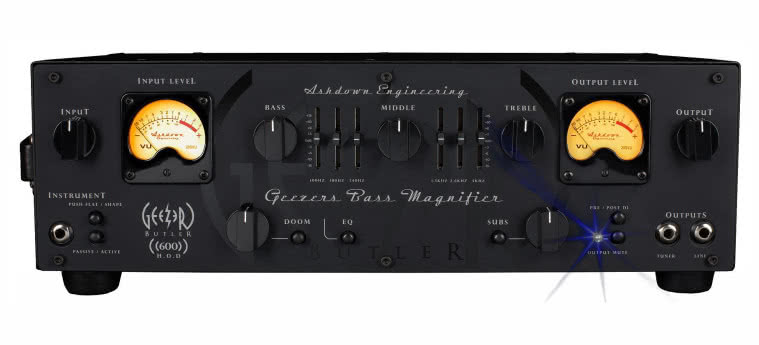 ASHDOWN - HOD600 Head Of Doom - Geezer Butler Signature